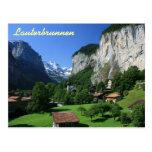 Lauterbrunnen, Suiza Tarjetas Postales