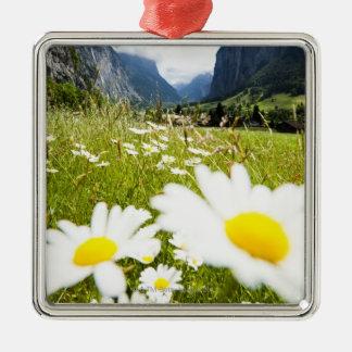 Lauterbrunnen, Switzerland Metal Ornament