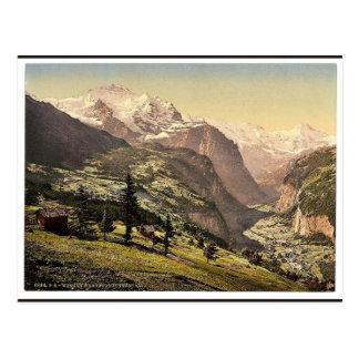 Lauterbrunnen Valley and Wengen, Bernese Oberland, Postcards