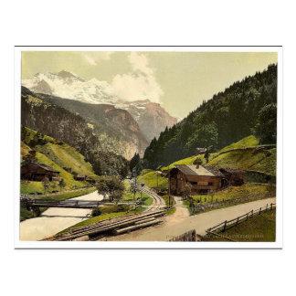 Lauterbrunnen Valley, Bernese Oberland, Switzerlan Post Cards