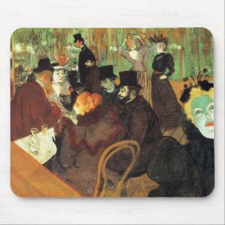 Lautrec: At the Rouge Mouse Pad