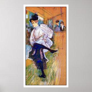 Lautrec: Baile de Jane Avril Posters