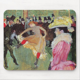 Lautrec - Dance At The Rouge Mousepads