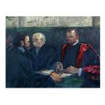 Lautrec-Examen de Enrique en la facultad de medici Postales