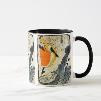 Lautrec: Jane Avril Dancing the Can-Can Mug