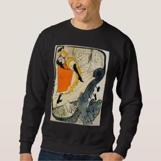 Lautrec: Jane Avril Dancing the Can-Can Sweatshirt