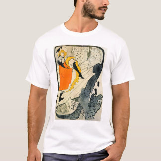 Lautrec: Jane Avril Dancing the Can-Can T-Shirt