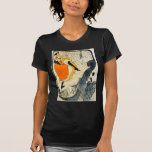 Lautrec: Jane Avril Dancing the Can-Can T-shirts
