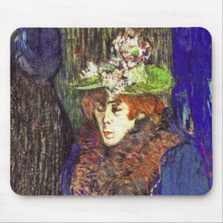 Lautrec: Jane Avril Enters the R. Mouse Pad