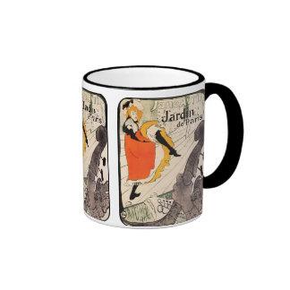 Lautrec: Jane Avril, Jardin de Paris Ringer Mug
