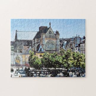 l'Auxerrois Claude Monet de Germán del santo Puzzle Con Fotos