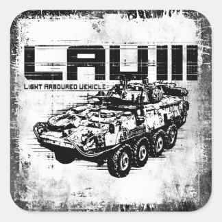 LAV III  Square Sticker