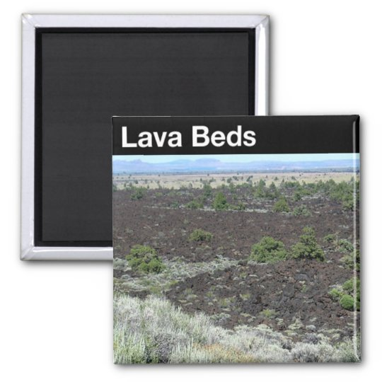 Lava Beds National Monument Magnet