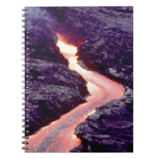 lava bend curves notebook