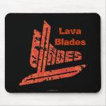 Lava Blades Mouse Pads