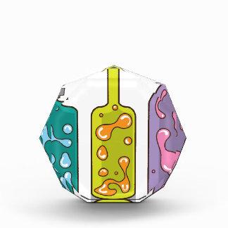 Lava Bottles. improvised Lamps Acrylic Award