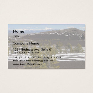 Lava Craters 4 Business Card