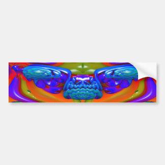 Lava Creature Bumper Sticker
