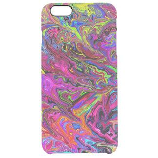Lava del caso más del iPhone 6 de los colores Funda Clearly™ Deflector Para iPhone 6 Plus De Unc