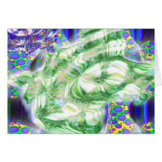 lava dreams nuclear abstract art card