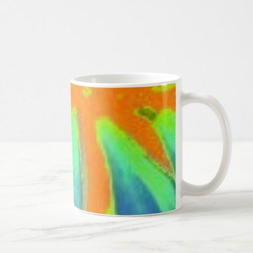 Lava fingers - mug