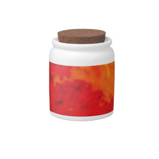 lava flame candy jars