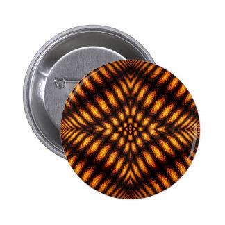 Lava Flow Pattern Pinback Button