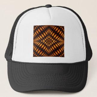 Lava Flow Pattern Trucker Hat