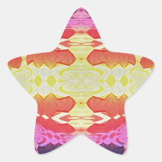 Lava Flow Star Sticker