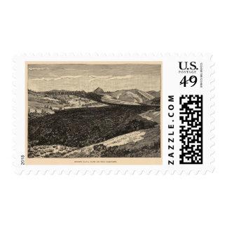Lava flow, Uinkaret Stamp