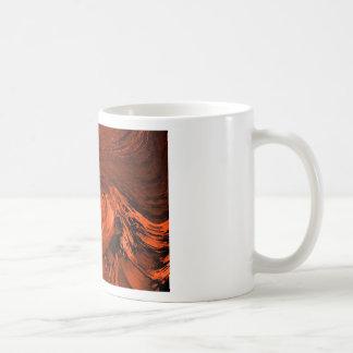 Lava fundida taza de café