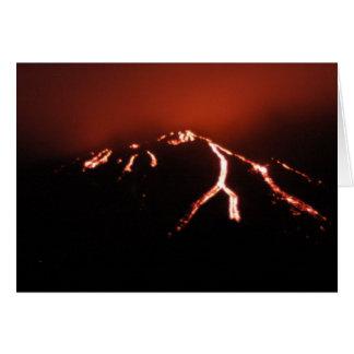Lava Glow Notecard