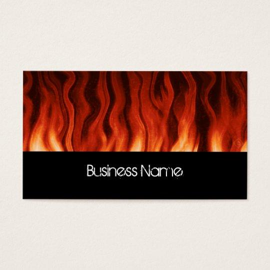 lava heat ~ bc business card