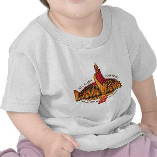 LAVA-JAVA-Coffee Circle Design Tee Shirt