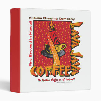 Lava Java Hawaiian Coffee Binder