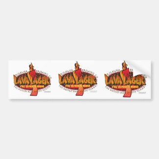 LAVA-LAGER-Brewing Company Bumper Sticker