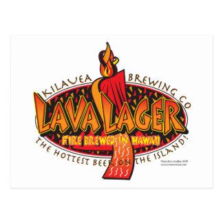 LAVA-LAGER-Brewing Company Postcard