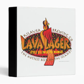 Lava Lager Hawaiian Beer Binder