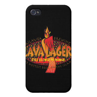 Lava Lager Hawaiian Beer iPhone 4 Cases