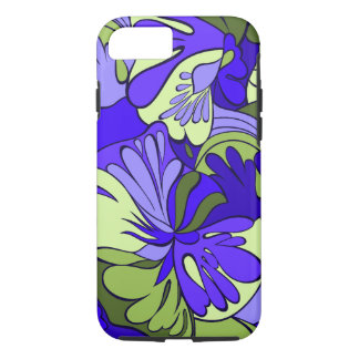 Lava-Lamp Retro Psychedelic Floral iPhone 8/7 Case