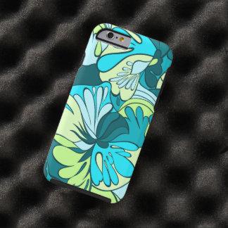 Lava-Lamp Retro Psychedelic Floral Tough iPhone 6 Case