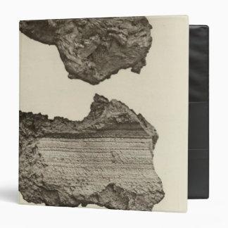 Lava, Lower Sevier, Utah 3 Ring Binder