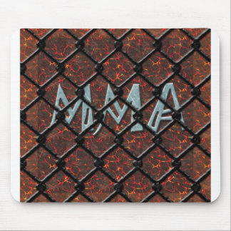 Lava MMA Caged in ice Mouse Pad