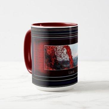 Beach Themed Lava Mug