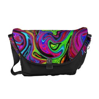 Lava of Colors Rickshaw Messenger Bag
