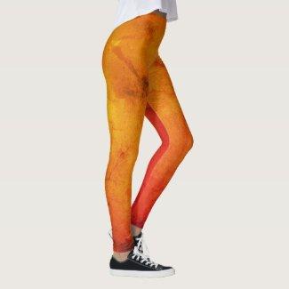 Lava Parchment Yoga Pants