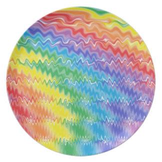 Lava Rainbow Plate