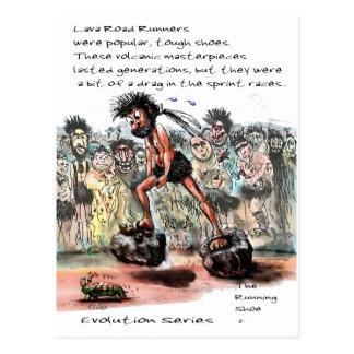 Lava Road Runners Postcard