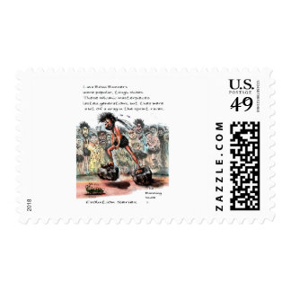 Lava Road Runners Stamp