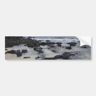 Lava Rock Beach Bumper Sticker